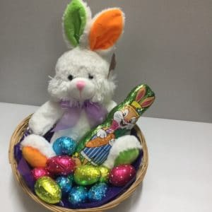 Chocolate Bunny Basket